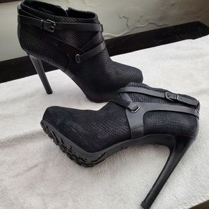 Guess Platform Booties Size 10
